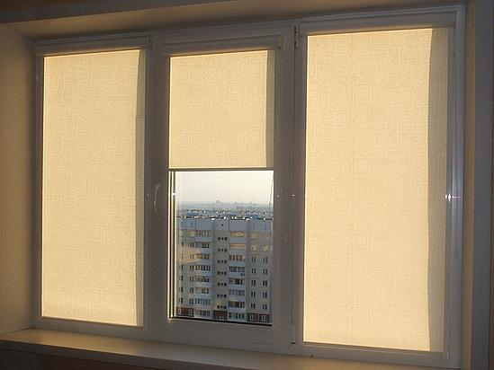 Закрытые шторы